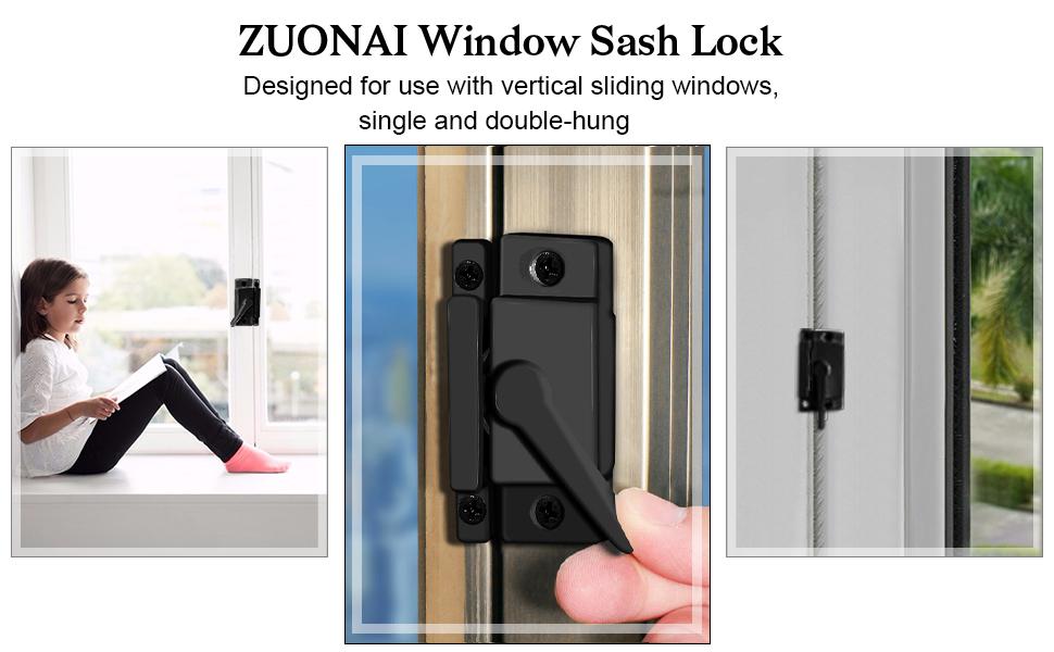 die-cast sliding window sash lock