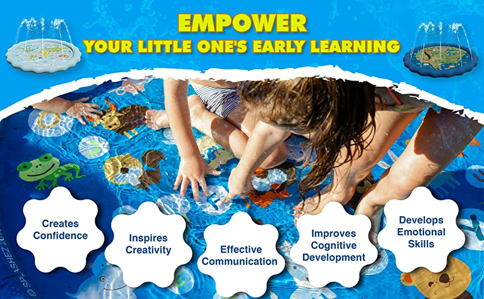 EMPOWER YOUR LITTLE ONE'S EARLY LEARNING