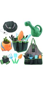 Dinosaur Kids Gardening Tool Set