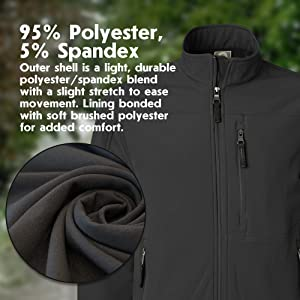 Light outer Shell Stretch Comfort