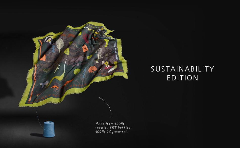 Sustainability Edition - made from 100% recycled PET bottles