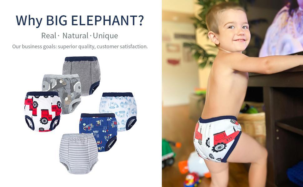 big elephant toddler boy cotton baby assortment underwear training pants Independence Day