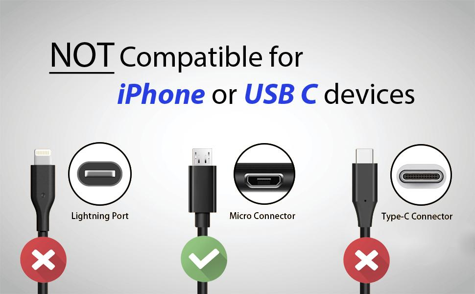 PS4 charging micro usb cable