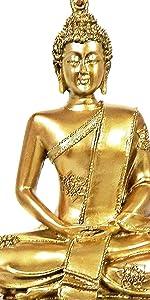 Bellaa Buddha Statues Dhayana Mudra Sitting Blessing Meditating