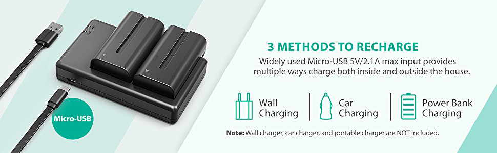 3 methods to recharge