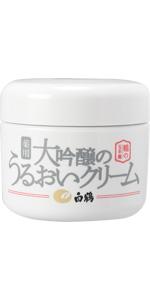 鶴の玉手箱 大吟醸のうるおいクリーム 90g