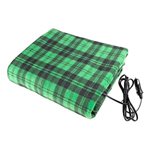 Details about  /Easy Controller /& Quick Warm 12V Heated Electric Car Blanket for Cold Weather