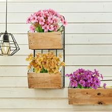 20 Bundles Artificial Outdoor Flowers