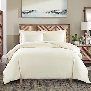Cotton blended duvet covers