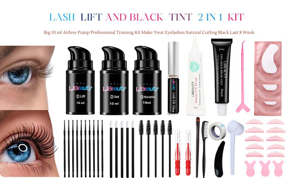 professional lash lift and tint kit