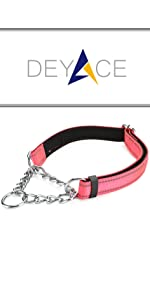 Classic Martingale Collar Pink