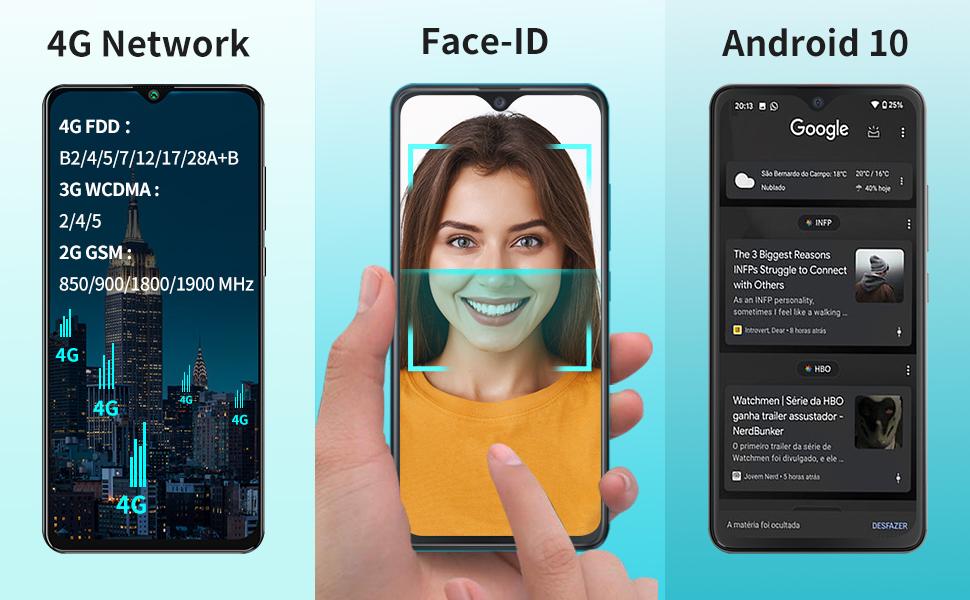 4G Mobile Phone SIM Free Unlocked  Smartphones Unlocked Mobile Phones