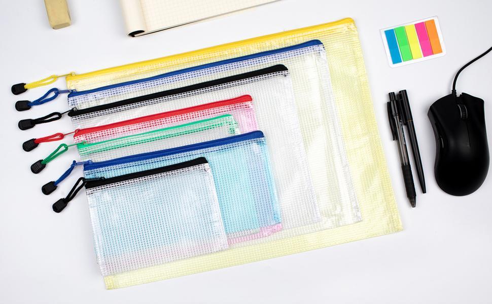 zipper pouch, mesh zipper pouches, plastic zipper bag