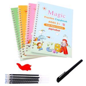4Pcs Magic Practice Copybook