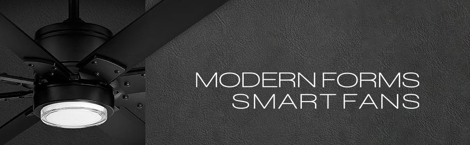 Modern Forms, Modern Forms Fans, Modern Forms Smart Fans, Smart Fans, WAC, WAC Lighting Fans, Fans