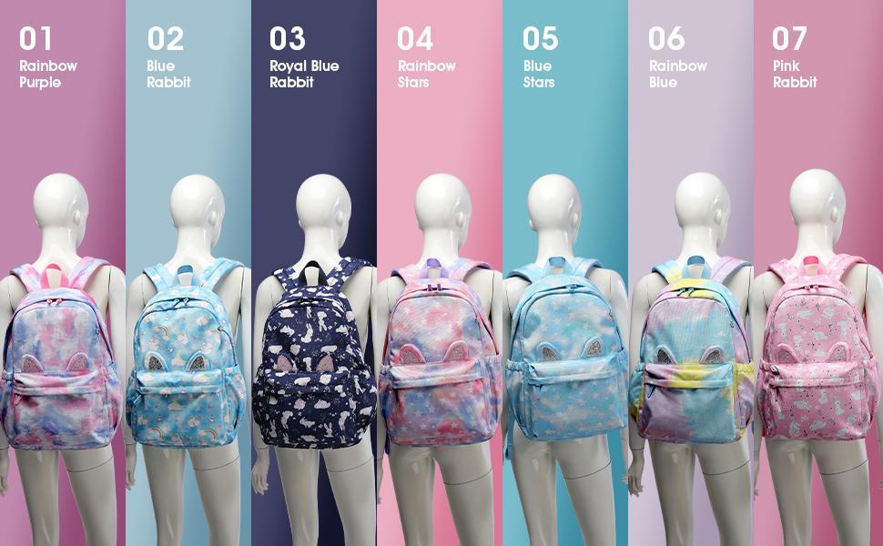 Girls Backpack Color
