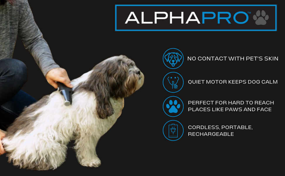 Alpha Pro Pet Grooming Comb
