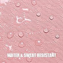 WATER & SWEAT RESISTANT