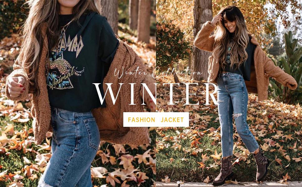 fashion women winter jacket