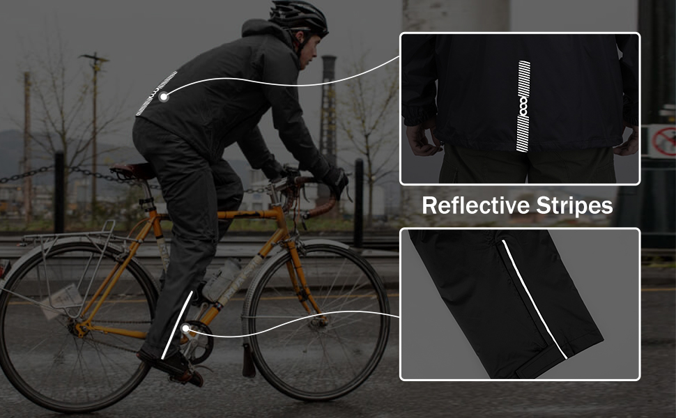Reflective Stripes for cycling