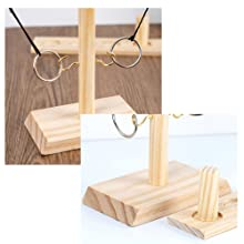 Ring Toss Indoor Holiday Fun or Outdoor Yard Game