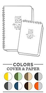 all weather spiral notebooks