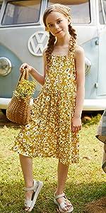 foral dress for girls