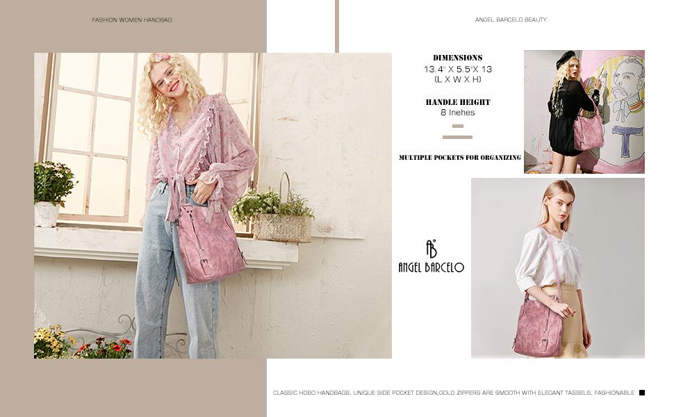 Women shoulder handbag and purse