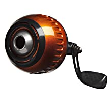 Black and Orange reel for kids fishing rod