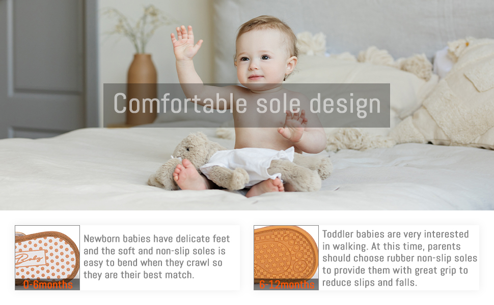 comfortable sole design 0-6 month soft sole baby shoes 6-12/12-18 month rubbler soft sole baby shoes