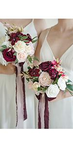 7-inch Bridesmaid Bouquets (Set of 4)