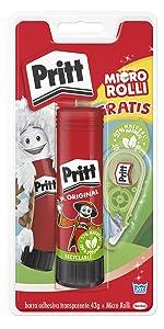 Pritt barra adhesiva stick pega-mento escolar infantile manualidad-es cola adhesion multi-material