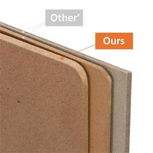 Thick high-density fiberboard