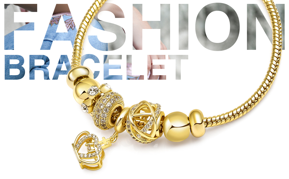 Bracelets for Women Golden Crown