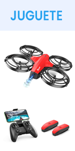 Potensic Mini Drone P7, Rojo