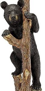 Bear Cub Statue by Artist Samuel Lightfoot