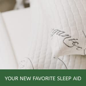 Premium pillows made with organic cotton and natural latex