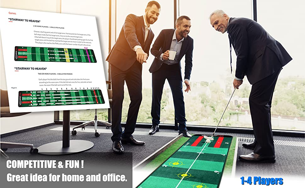 Competitive and fun, great idea for home and office