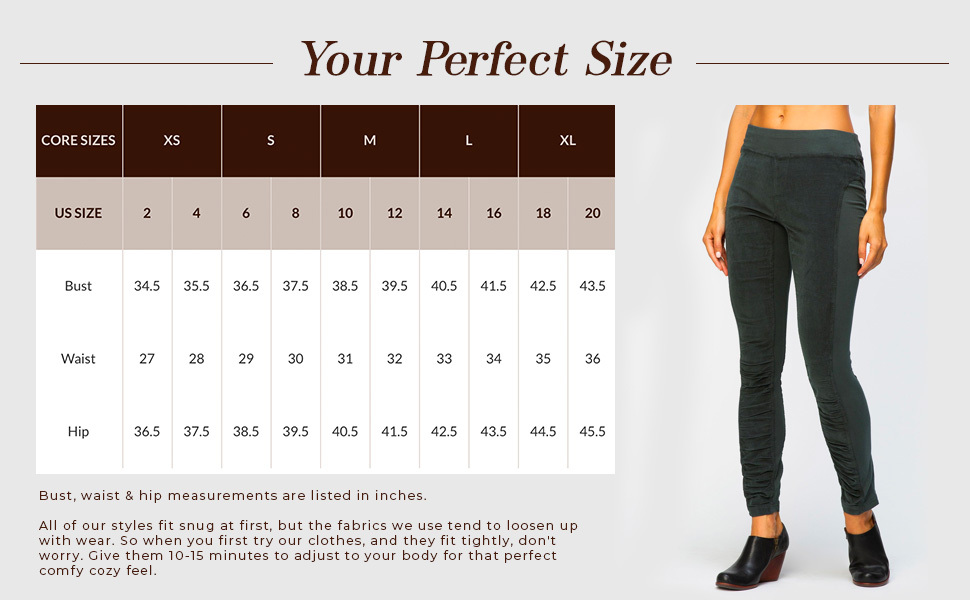Find your perfect size and color