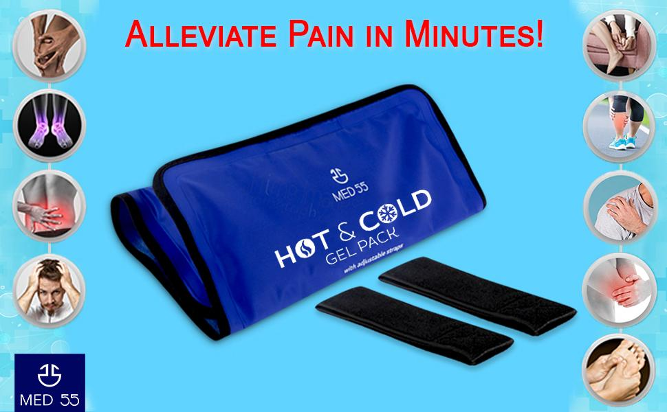 gel pack, ice pack, cold compress, hot compress