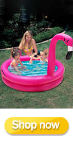 Inflatable Flamingo Kiddie Pool