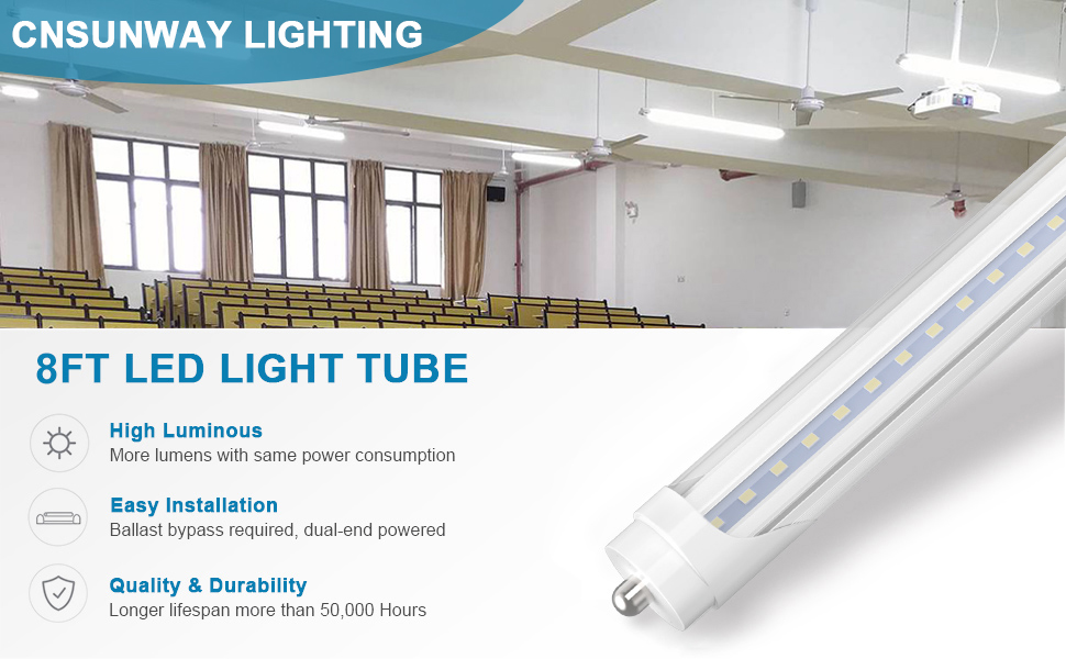 8ft led bulbs