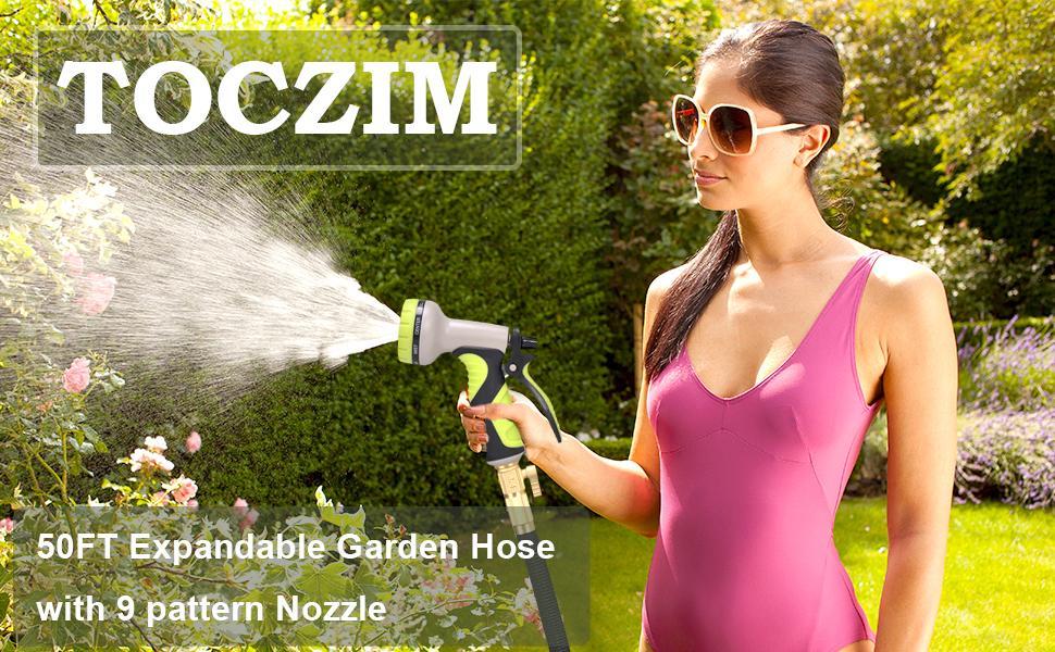50FT Expandable Garden Hose
