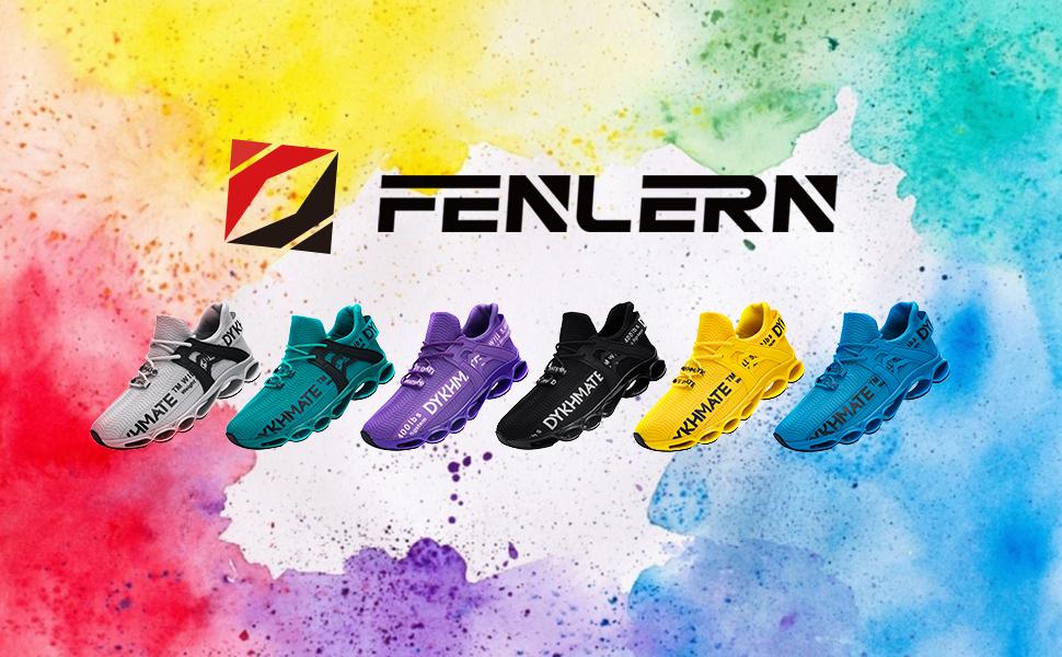 FENLERN walking shoes sneakers for women