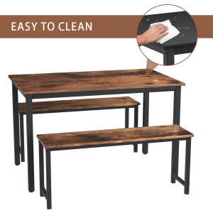 kitchen chairs with bench