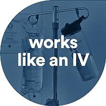 DripDrop ORS works like an IV