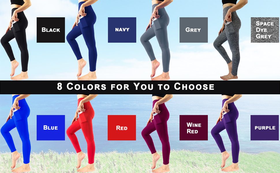 8 Colors for You to Choose,Black,Blue,Navy,grey,purple,Red,Space Dye Grey,Wine Red