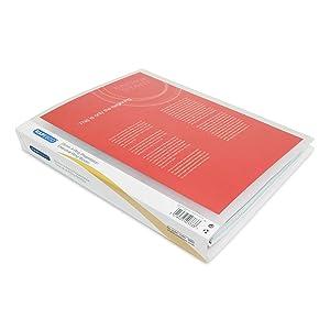 classement classeur double simple solide semi-rigide souple porte pochette farde revision fiches