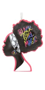 Black Girl Magic Mahogany Ornament Hallmark