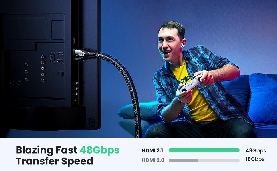 Blazing Fast 48Gbps Transfer Speed